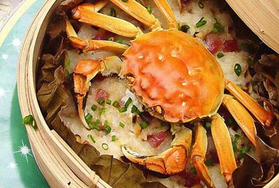 水蟹梭子蟹-主料:海蟹700克-荷香糯米蟹