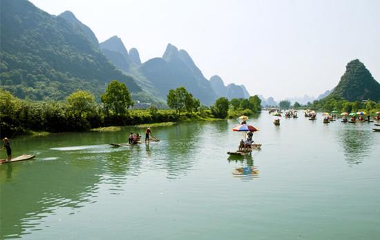 桂林山水甲天下,獨秀峰-王城景區
